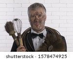 Portrait Of A Chimney Sweep In...