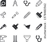 tool vector icon set such as ... | Shutterstock .eps vector #1578483562