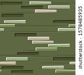 green brick wall texture...