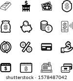 money vector icon set such as ... | Shutterstock .eps vector #1578487042