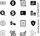 money vector icon set such as ... | Shutterstock .eps vector #1578487045