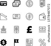 money vector icon set such as ... | Shutterstock .eps vector #1578487072
