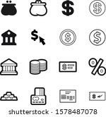 money vector icon set such as ... | Shutterstock .eps vector #1578487078