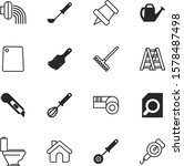 tool vector icon set such as ...