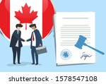 canada international... | Shutterstock .eps vector #1578547108