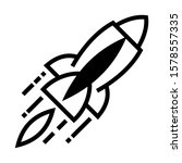 launch project rocket icon...