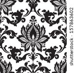 antique,backdrop,background,black,botany,classic,classical,coat,cover,damask,decoration,design,fabric,flores,foliate