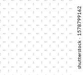 seamless geometric ornamental... | Shutterstock .eps vector #1578799162