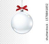 Realistic Transparent Christmas ...