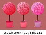 valentines day love tree... | Shutterstock .eps vector #1578881182