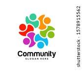 community logo design...   Shutterstock .eps vector #1578915562