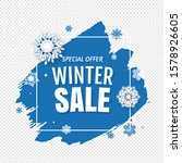 winter card with white...   Shutterstock .eps vector #1578926605