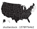 united state of america map... | Shutterstock .eps vector #1578976462