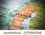 Sverige. Europe On A Geography...