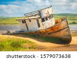 Shipwrecked Fishing Boat In...