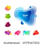 multi colored collection of... | Shutterstock .eps vector #1579167322