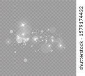 glow light effect. vector... | Shutterstock .eps vector #1579174432