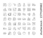 Wholesale Company Linear Icons  ...