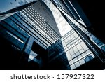 modern glass building | Shutterstock . vector #157927322
