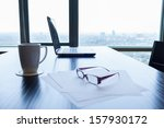 office desk | Shutterstock . vector #157930172