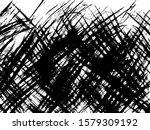 scratched texture background.... | Shutterstock .eps vector #1579309192