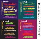 extreme grunge art brushes... | Shutterstock .eps vector #1579320208