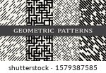 seamless geometric pattern... | Shutterstock .eps vector #1579387585