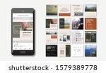 social media pack. business...   Shutterstock .eps vector #1579389778