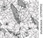 seamless retro vector pattern... | Shutterstock .eps vector #157939952