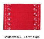 Christmas Table Cloth Isolated...