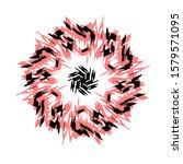 abstract vector illustration.... | Shutterstock .eps vector #1579571095