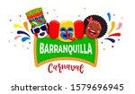 carnaval de barranquilla ... | Shutterstock .eps vector #1579696945