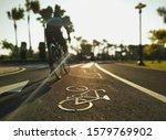 Bicycle sign  bicycle lane...