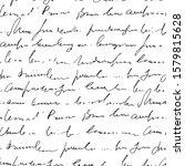 handwritten abstract text... | Shutterstock .eps vector #1579815628
