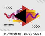 modern abstract circle and...   Shutterstock .eps vector #1579872295