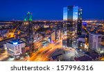 tallinn  estonia financial... | Shutterstock . vector #157996316