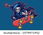Vector Of Grim Reaper...
