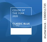 color of the year 2020 classic...   Shutterstock .eps vector #1580011735