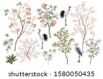 Beautiful Exotic Chinoiserie...