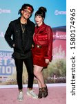 """Small photo of Los Angeles, CA - December 02, 2019: Yassir Lester and guest attend the premiere of Showtime's """"The L Word: Generation Q"""" at the Regal LA Live"""