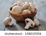 Fresh Mushrooms Champignon In...