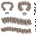 Straight Fur Brush Colorable By ...