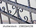 Decorative Wrought Iron Door...