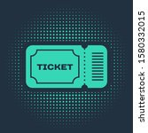 green ticket icon isolated on... | Shutterstock .eps vector #1580332015