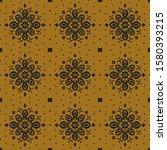 ikat seamless pattern. border...   Shutterstock .eps vector #1580393215