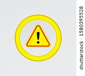 exclamation mark icon on a...