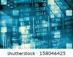 finance data concept | Shutterstock . vector #158046425