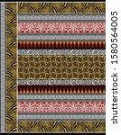 geometric pattern textile... | Shutterstock . vector #1580564005