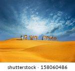 Dubai Desert Camel Safari. Ara...