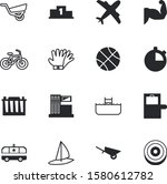 sport vector icon set such as ... | Shutterstock .eps vector #1580612782